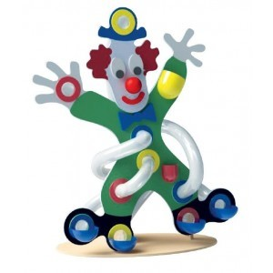 Clown Ball Run - Sensory Toy (8SMCB)