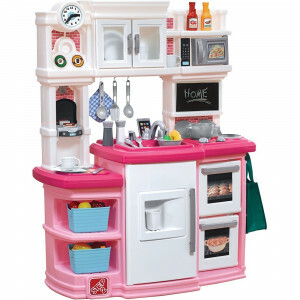 Play Kitchen Great Gourmet White/Pink - Step2 (784200)