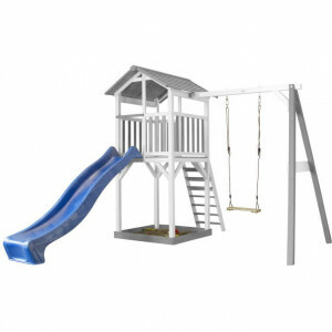 AXI Playtower with single swing - Blue slide