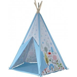 Kids Kingdom Teepee Play Tent - Blue - Spirit Of Air(9460)