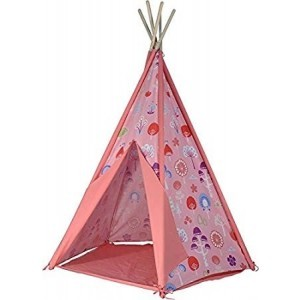 Kids Kingdom Teepee Play Tent - Pink - Spirit Of Air(9462)