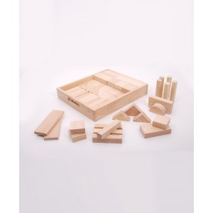 Natural Jumbo Block Set