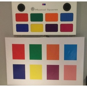 Musical Squares Wall - Sensory Toy (9MSQRW)