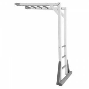 AXI Beach Tower Climbing Frame - Gray / White