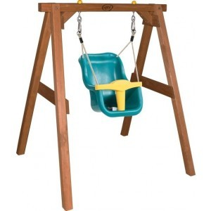 Baby Hemlock wood Brown Swing seat - AXI (A030.301.00)