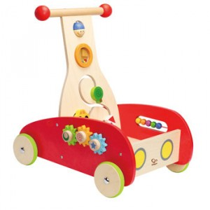 Wooden activities trolley Wonder Walker - Hape