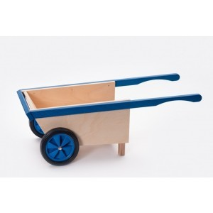 Wooden Wheelbarrow Blue - ADO Toys (ADO Toys-18)