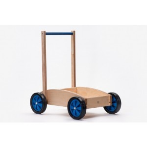 Wooden Baby Push / Walker Blue - ADO Toys (ADO Toys-23)
