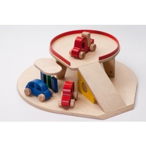 Wooden Garage With Cars - ADO Toys (ADO Toys-29)
