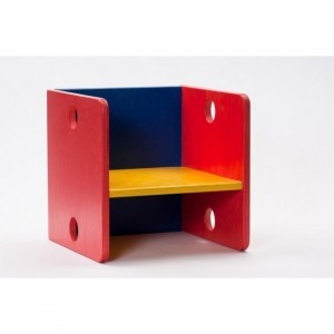 Children's Colored Cube Chair - ADO Toys (ADO Toys-6)
