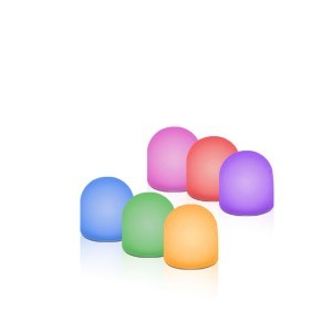 Sensory Mini Light up Domes (pack 6)