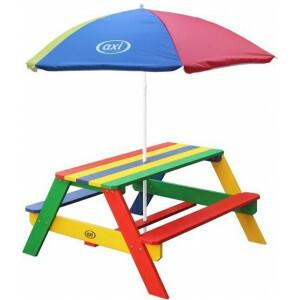 Axi Nick Picnic Table Rainbow - Parasol Rainbow