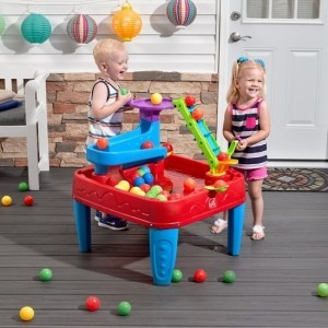 Stem Discovery Ball Table / Ball Game Table Incl. Play Balls / Water Table