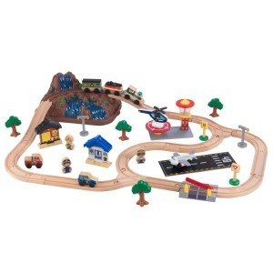 Bucket Top Mountain Train Set - Kidkraft (17826)