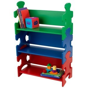 Bookshelf Puzzle (primary colors) - Kidkraft (14400)