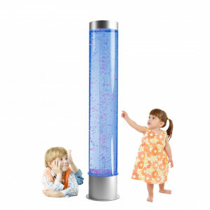 Bubble Tube With Floating Balls And Remote