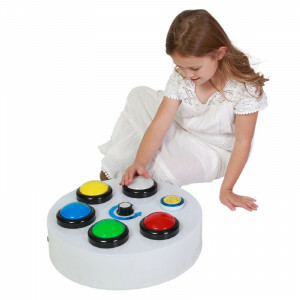 Large Button Controller for Bubble Features