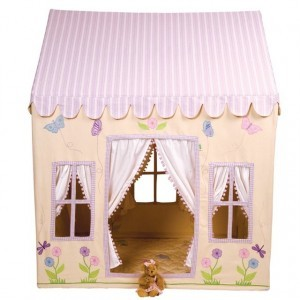 Win Green Butterfly Playhouse (small) + Floor Quilt
