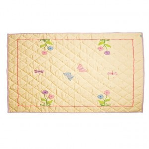Butterfly Cottage Floor Quilt (large) - Win Green (1203)