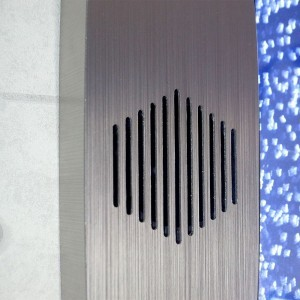 Vertical Bubble Wall with Bluetooth and Speakers