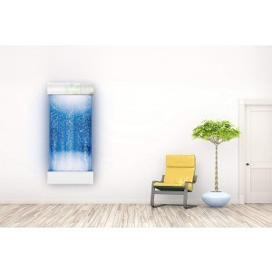 Bubble Wall – Wall Hung Portrait (Chrome) (120 cm)