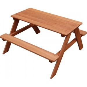 Sunny Dave Picnic Table Brown