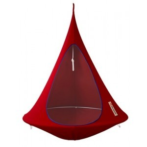 Hanging tent Cacoon Chili Red 1 person