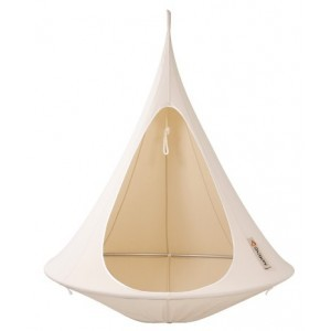 Hanging tent Cacoon Natural White 1 person