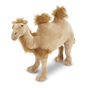 Large Plush Camel Bactrian