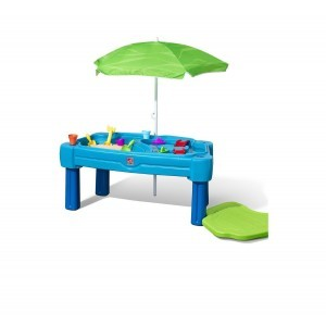 Cascading Cove Sand and Water table with parasol - Step2 (850900)
