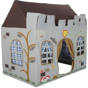 Knight Castle Playhouse (small) + Floor Quilt (Win Green)