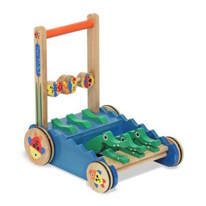 Wooden Crocodile Push Toy - Melissa & Doug (13011)