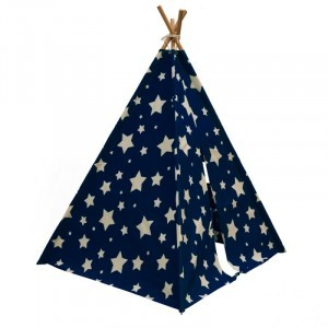 Cosmo Tipi (Night blue/White) - Sunny (C052.102.01)