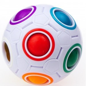 Coloured Puzzle Ball