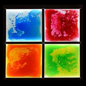 Light Up Sensory Floor Tile Kit (4 Tiles and Adaptor)