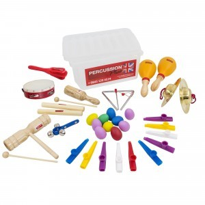 Basic Classroom Percussion Kit - Sensory Education (DD-PP-PP371)