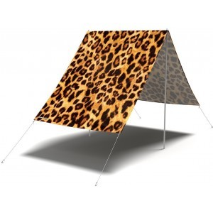 Don't be a Leopard Sunshade