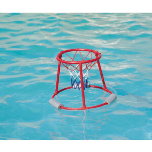 Floating basketball stand