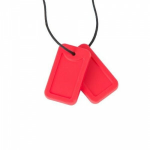 Chewigem Chewing Necklace – Red Dog Tags