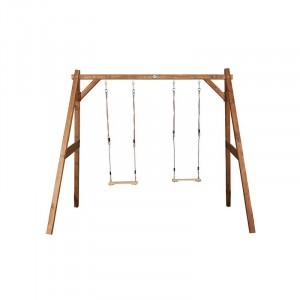 Wooden Double Swing (brown) - AXI