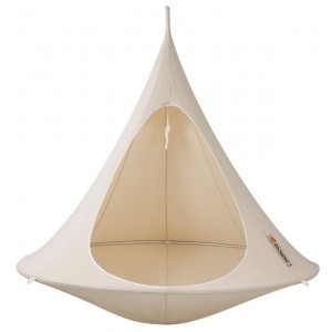 2-seater Hanging tent (Natural White) - Cacoon (DW001)