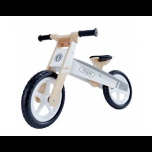 Wooden Balance Bike White
