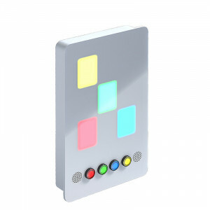 Light and Music Touch Panel
