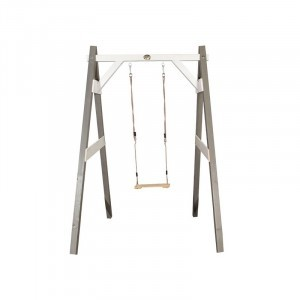 Wooden Single Swing (gray / white) - AXI (A030.139.01)