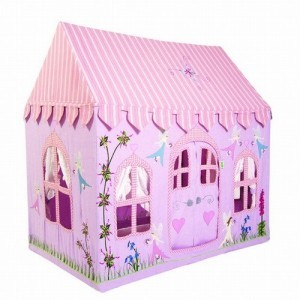 Fairy Cottage Playhouse + Floor Quilt (large) - Win Green (10041204)