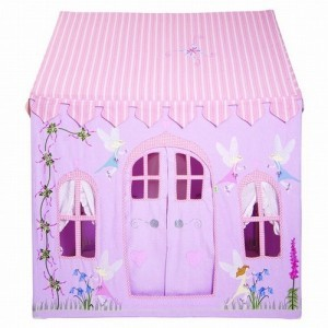 Win Green Fairy Cottage (small) + Floor Quilt