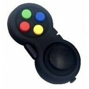 Fidget Pad : Multi Colour buttons (Pack of 3)
