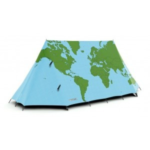 World Map Tent
