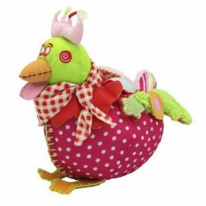 Sweet Chick Pink plush / night lamp