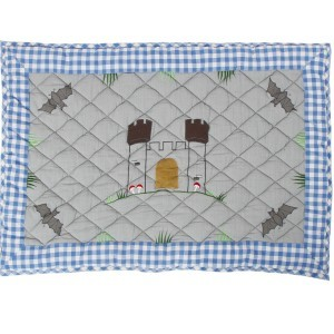 Knight's Castle Playhouse Floor Quilt (Win Green-Small)